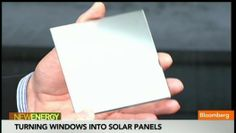 How to Turn Windows Into #SolarPanels
