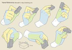 Manga Drawing Tips 手のイラスト資料集 -Hand Reference Hand Drawing Reference, Drawing Reference Poses, Anatomy Reference, Drawing Poses, Drawing Tips, Drawing Hands, Drawing Ideas, Anatomy Drawing, Manga Drawing