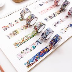 2cm*7m Princess Alice Cat washi tape DIY decorative scrapbooking sticker planner masking adhesive tape label school supplies