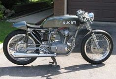 Old Ducati Cafe Racer