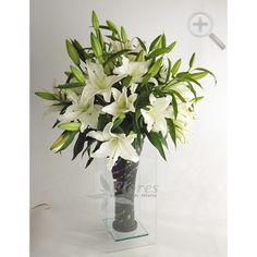 Floreria - Flores Elegantes de Mexico arreglo de casablancas