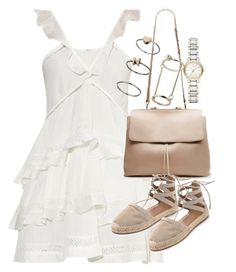 """""""Untitled #18944"""" by florencia95 ❤ liked on Polyvore featuring Étoile Isabel Marant, Aquazzura, Topshop and Burberry"""