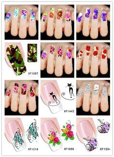 Woda naklejki Nail art naklejki mody paznokci naklejki 2016 najlepiej sprzedających kwiat motyl zwierząt transferu wody naklejki dekoracyjne