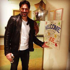 Joe Manganiello at Pittsburgh Children's hospital