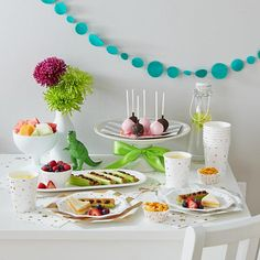 Toot Sweet Silver and Gold Party Collection   The Land of Nod