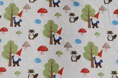 Woodland Gnome Fabric