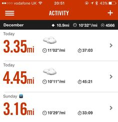 This seemed like a good idea at the time. Tonight I ran 4.45 miles with my running group then after a 10 minute break on my sister's suggestion I joined her and the beginners to do 3.35 miles. My longest run until now has been 6 miles. Today: 7.8 miles or thereabouts. None of it was fast but yesterday's Santa Dash was the first run I've done in ages and I'm well and truly broken now. Very chuffed though. Could somebody please make my dinner and help me bend down to take off my shoes? Thank…