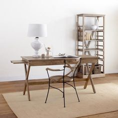 One of my favorite discoveries at WorldMarket.com: Campaign Home Office Collection