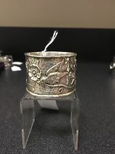 Jon Rounds Circa 1866 Sterling Napkin Ring #SterlingSilverServingPieces