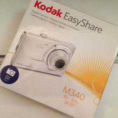 Kodak camera Blue camera. Still in great condition. Hardly ever used. Comes with box, user guide, USB cable, and charger cable. Light dust particles made it inside from sitting around ( as seen in pic 4). Minor scratches but not noticeable. Kodak Other