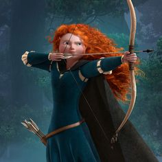 Merida from Disney's Brave.