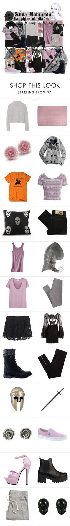 """Requested by genxpen: Anna Robinson Daughter of Hades ~ Wardrobe"" by liesle ❤ liked on Polyvore featuring Line, American Eagle Outfitters, Subtle Luxury, H&M, Cheap Monday, Mossimo, DC Shoes, American Vintage, Nightcap and Aerie"