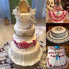 Cakes inspirados en la Pollera Panama
