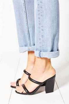 Sol Sana Raven Double Strap Heel - Urban Outfitters