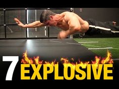 How To Boost Aerobic Fitness Video How To Boost Aerobic Fitness 7 Most Explosive Home Exercises (BODYWEIGHT!) Build muscle using nothing but your bodyweight at Bodyweight Workout Program, Polymetric Workout, Aerobics Workout, Hiit, Workout Programs, Workout Fitness, Cardio At Home, Home Exercise Routines, Workout Routines