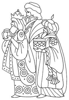 THREE WISE MEN coloring pages - 45 Xmas online coloring books and printables (page Christmas Nativity, Christmas Art, Christmas Projects, Christmas Ornaments, Felt Ornaments, Christmas Holidays, Christmas Decorations, Colouring Pages, Coloring Pages For Kids