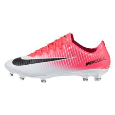 d2a915f0d216 Nike Mercurial Vapor XI FG Soccer Cleat (Racer Pink Black White)
