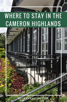 CAMERON HIGHLANDS RESORT REVIEW - The most luxurious hotel in the Cameron Highlands, Malaysia