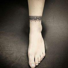 Tatouage bracelet cheville \u2013 Le tattoo à la chaîne