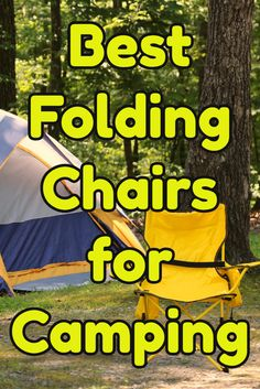 Best Folding Camping Chairs with Footrest, perfect to take to any outdoor event. Lightweight and portable. Foldable Camping chairs for big people. Camping And Hiking, Family Camping, Camping Gear, Hiking Gear, Camping Stuff, Camping Life, Best Folding Chairs, Folding Camping Chairs, Big People