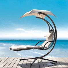 @Overstock - This Delano Dream Chair Chaise Lounge is the pinnacle of outdoor style and comfort. This adjustable lounge chair features beige colored fabric and a powder-coated bronze on the metal.http://www.overstock.com/Home-Garden/Dream-Chair-Chaise-Lounge/6099453/product.html?CID=214117 $389.99