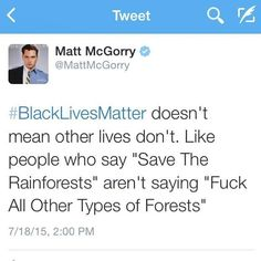 """Matt McGorry Responded Perfectly To People Who Use """"All Lives Matter"""" As A…"""