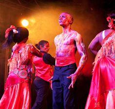 Cape Town Carnival Media event #icut #mightymantis #capetowncarnival #airbrush #fire