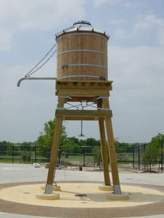 Wood Water Storage Tanks with Wood or Steel Tower Water Collection System, Rain Collection, Steel Water Tanks, Westerns, Survival Fishing, Tank Stand, Rainwater Harvesting, Garden Pond, Water Systems