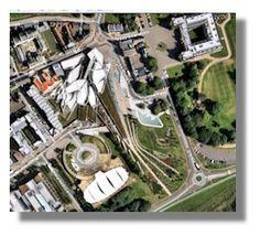 Scottish Parliament Building Plan View