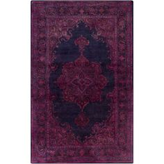 Anchor your living room seating group or define space in the den with this hand-tufted wool and cotton rug, featuring a Persian-inspired motif for timeless s...