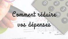 Vivre avec un petit budget - Organiser son quotidien Business Diary, Budget Organization, Courses, Organiser, Personal Finance, Cards Against Humanity, How To Plan, Nutrition