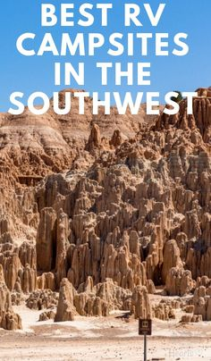 Best RV Campsites in the Southwest Looking for campsites in the Southwest, US? Be sure to check out these Best RV Campsites in the Southwest with amazing views and features. Rv Camping Tips, Travel Trailer Camping, Camping Places, Camping Spots, Camping Essentials, Roadtrip, Rv Travel, Camping Life, Rv Life
