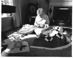 Mary Schafer quilting mid 1990's