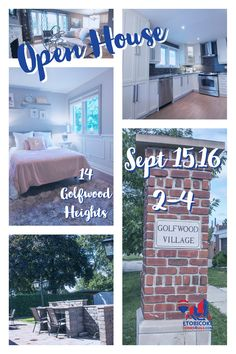 Open House Open House<P>Sept 15,16 2-4<P>14 Golfwood Heights Open House, Real Estate, Wood, Home Decor, Decoration Home, Woodwind Instrument, Room Decor, Real Estates, Timber Wood