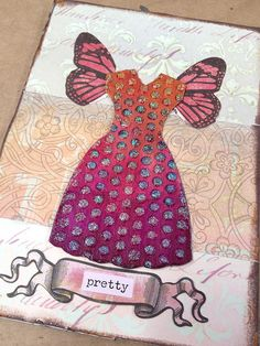 mixed media collage by Marah Johnson Art, via Flickr