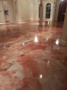 Metallic Epoxy Flooring Las Vegas Nv Nevada Decorative