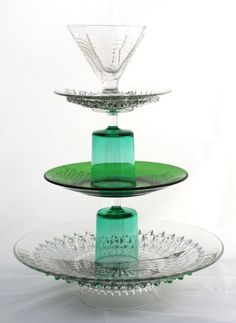 Now THAT is a cool cake stand!