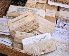 make your own lace card
