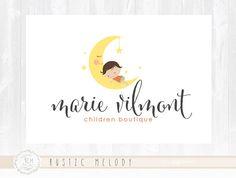 Baby Logo Design Children Logo Boutique Logo Photography Logo Design Watermark