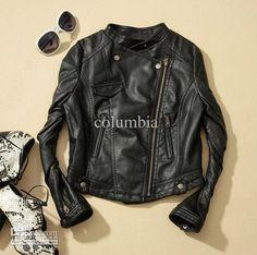 Wholesale Jackets - Buy New Fashion Women Faux Leather;Zip-Up,Cropped PU Leather Jacket, Biker Jacket, $34.09 | DHgate