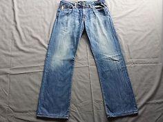 Adriano Goldschmied Mens Jeans Size 34 x 32