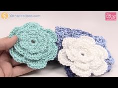 Crochet Cozy Posy Headband + Tutorial - The Crochet Crowd