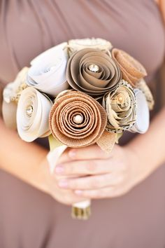 Paper Bouquet by Dollmark