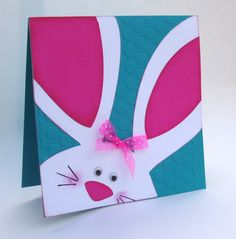 Bunny Easter card.