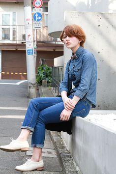 ストリートスナップ [HAYA]   GAP, UNIQLO, used   原宿   2012年06月03日   Fashionsnap.com