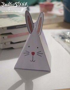 Kreativ-Stanz Freunde ohne Ecken und Kanten Stempelset und Thinlits Stampin' Up! Hase Ostern #pyramid #rabbit http://kreativstanz.bastelblogs.de/ Kreativstanz – Stampin' Up!