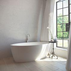 Slik Portfolio Maya Tub :: Bath Tub from Home & Stone Stand Alone Bathtubs, Modern Bathtub, Zen Space, My House Plans, Clawfoot Bathtub, Freestanding Bathtub, Contemporary Classic, Wood Bridge, Shower Doors