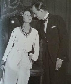 Coco Chanel y su novio