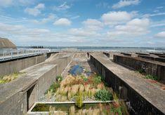 Submarine base. Gilles Clement, Landscape And Urbanism, Landscape Designs, France National, Saint Nazaire, Garden Of Eden, Parcs, France Travel, Oeuvre D'art