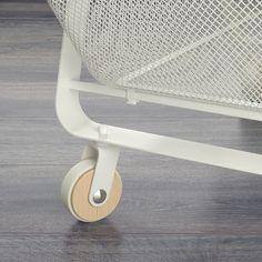 RISATORP Utility cart, white - IKEA Ikea Island, Kitchen Island Cart, Dish Detergent, Utility Cart, Ikea Home, Kitchen Images, Steel Mesh, Extra Storage, Clear Acrylic
